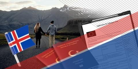 İzlanda Turistik Vize İşlemleri